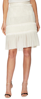 Jason Wu Collage Lace Fringe Pleated Skirt
