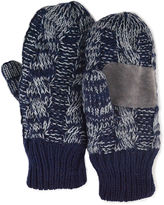 Muk Luks Cable Knit Mittens