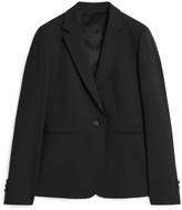 Arket Wool Stretch Blazer
