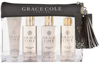 Grace Cole Vanilla Blush And Peony Travel Set