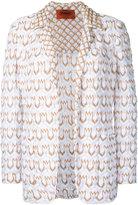 Missoni patterned blazer