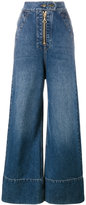 Ellery wide leg denim jeans - women - Cotton/Polyester - 24