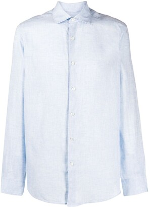 Ermenegildo Zegna Linen Dress Shirt