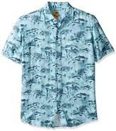 Margaritaville Men's Schooling Fish Bbq Shirt