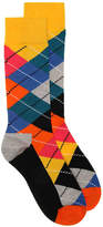 Happy Socks Argyle Crew Socks - Men's