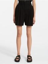 Calvin Klein Platinum Circle Eyelet Combo Shorts