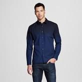 Mossimo Men's Long Sleeve Button Down Shirt Indigo