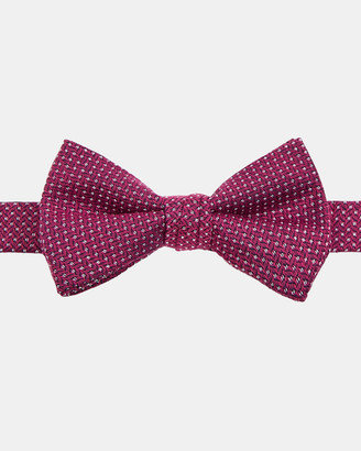 Ted Baker RUNBOW Woven silk bow tie