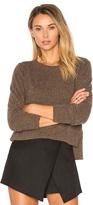 Autumn Cashmere Crop Crew Neck Sweater