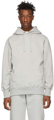 Leon Aime Dore Grey Logo Hoodie
