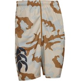 Canterbury of New Zealand Mens VapoDri Poly Camo Shorts Desert
