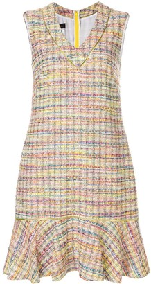 Talbot Runhof Pody1 tweed dress