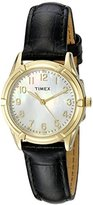 Timex Women's TW2P762009J City Collection Watch with Black Band