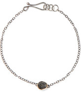 Melissa Joy Manning Sterling Silver Stone Bracelet
