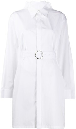Maison Margiela Belted Shirt Dress