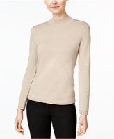 Charter Club Petite Mock-Neck Sweater, Only at Macy's