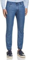 Z Zegna Superlight Denim Jeans in Light Blue