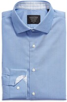 Thumbnail for your product : Nordstrom Trim Fit Pinstripe Non-Iron Dress Shirt