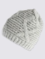 Marks and Spencer Cable Beanie Hat