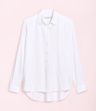 LOFT Petite Hi-Lo Tunic Shirt