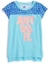 Nike Girl's Just Do It Graphic Tee