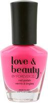 Love 21 Flamingo Pink Nail Polish