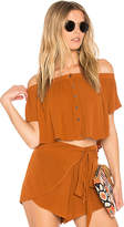 Blue Life Ojai Crop Top in Rust. - size XS (also in )