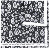 fe-fe paisley print pocket square