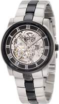 Kenneth Cole New York Men's KC9041 Automatic Gun Ion-Plating Round Watch