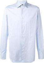 Ermenegildo Zegna curved hem shirt - men - Cotton - 40