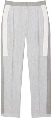 Burberry Contrast Stripe Tailored Trousers