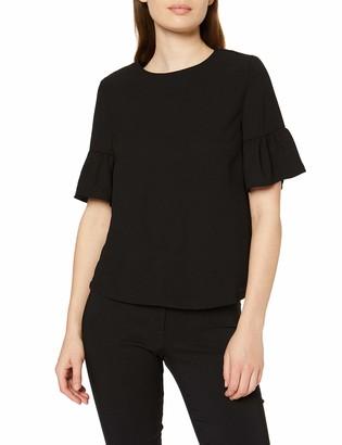 New Look Women's Flutter Sleeve Short Sleeve T - Shirt