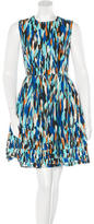 Jonathan Saunders Sleeveless A-Line Dress