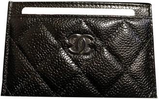 Chanel Timeless/Classique Black Leather Purses, wallets & cases