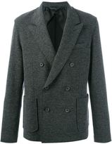 Lanvin double breasted jacket - men - Cotton/Nylon/Viscose/Wool - 46