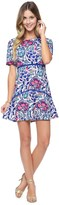 Juicy Couture Jacquard Bella Donna Floral Dress