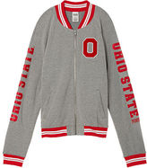 PINK The Ohio State University Varsity Bomber Jacket