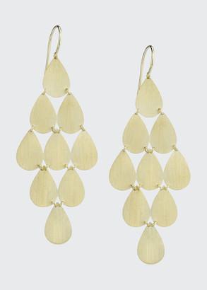 Irene Neuwirth 18k Yellow Gold 9 Drop Chandelier Earrings