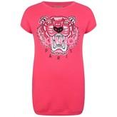 Kenzo KidsGirls Fuchsia Tiger Sweater Dress