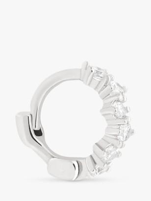Astrid & Miyu Clicker Cubic Zirconia Small Single Hoop Earring