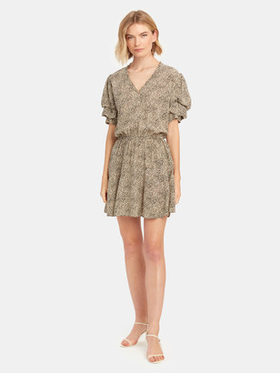 Zadig & Voltaire Russel Leopard Print Mini Dress