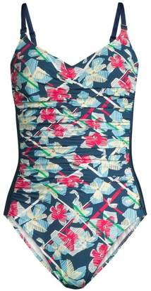 Shan Positano Floral One-Piece Swimsuit