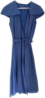 Burberry Blue Silk Dresses