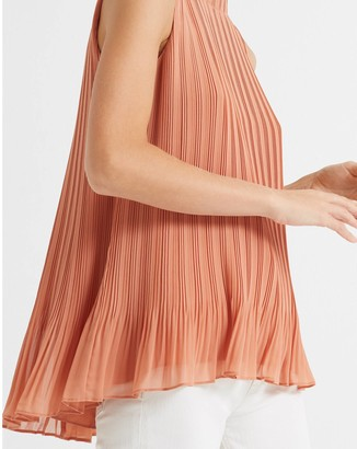 Club Monaco Pleated Swing Top