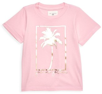 Sol Angeles Little Girl's & Girl's Golden Crewneck T-Shirt