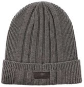 UGG Mens Ribbed Cuff Hat In