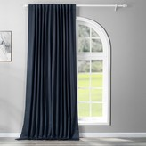 Eff EFF Blackout 1-Panel Eclipse Patio Sized Double Wide Window Curtain