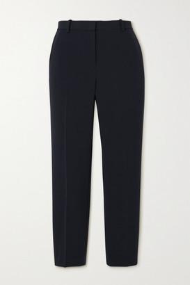 Theory Cropped Crepe Straight-leg Pants