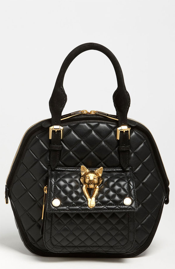Burberry Quilted Leather Satchel