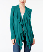 Karen Scott Ruffled Cardigan, Created for Macy's